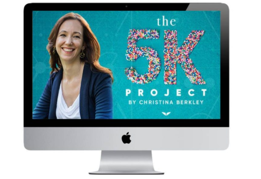 Christina Berkley – The 5K Project - Buy course full - $20