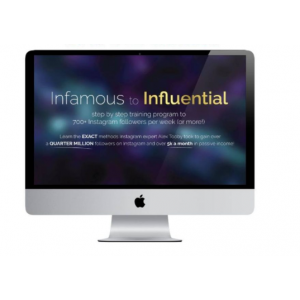 Alex Tooby – Infamous to Influential - Full course $50