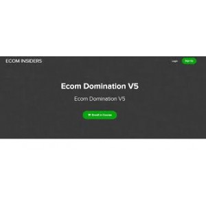 James Beattie – Ecom Domination V5 - Full course only $50